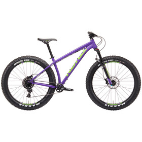 Kona WoZo matt kona purple/lime green/black